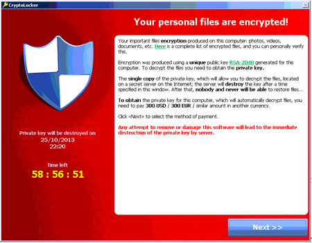 Malware - Screenshot
